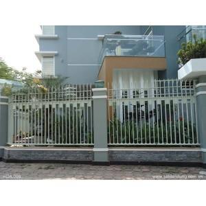 Hàng rào sắt trong sử dụng nội thất