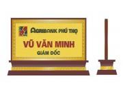 Biển quảng cáo chức danh để bàn