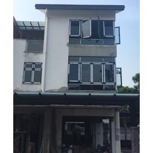 Làm cửa nhôm Xingfa tại Biệt thự Gamuda Hà Nội