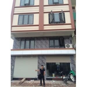 Bàn giao cửa nhôm Xingfa cho nhà phố tại Hà Đông