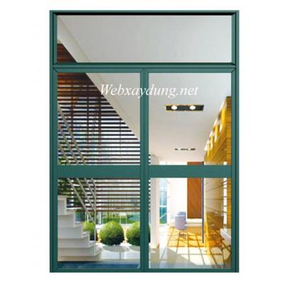 Mẫu cửa sổ mở quay nhôm Xingfa nhập khẩu