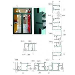 Cửa nhôm Xingfa cao cấp hệ 55