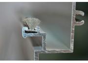 Tìm hiểu về gioăng lông cho cửa nhôm kính
