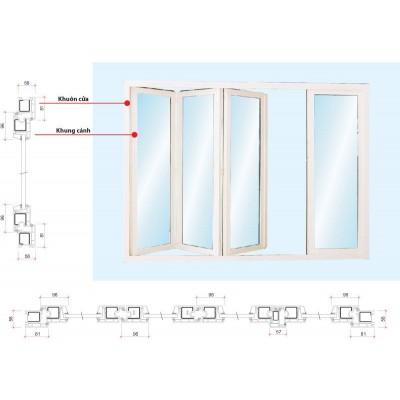 Cửa nhựa lõi thép dành cho nhà cao tầng