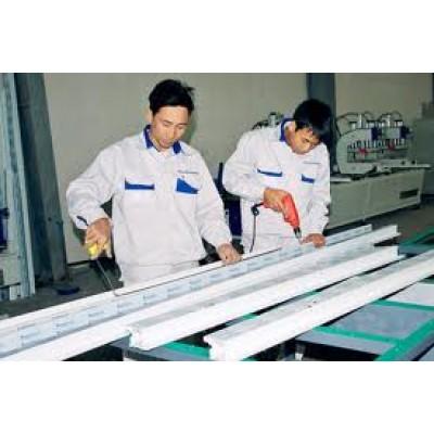 Quy trình sản xuất cửa nhựa lõi thép