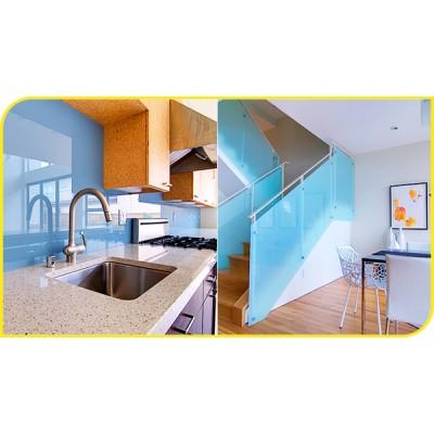 Sử dụng kính cường lực cho nội thất gia đình