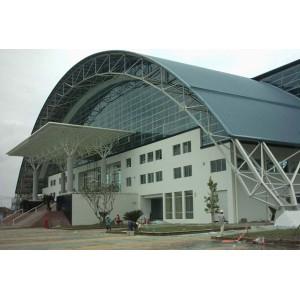 Mái tôn vòm các công trình công cộng