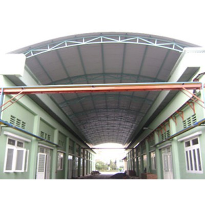 Lựa chọn nhà khung thép mái tôn