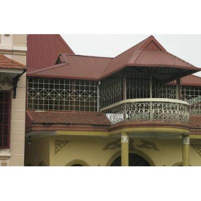Làm nhà khung thép mái tôn