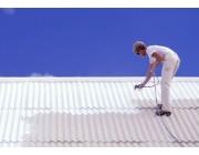 Sử dụng sơn chống nóng cho mái tôn vào mùa hè