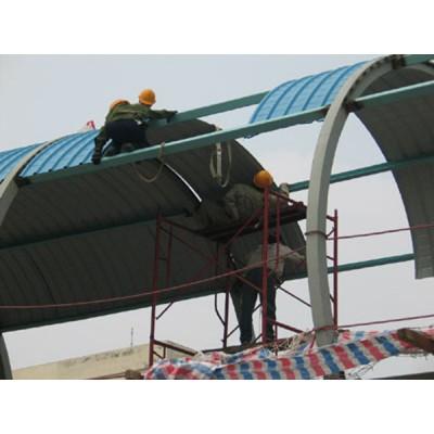 Nhận thi công lắp đặt mái tôn