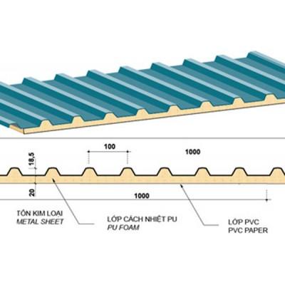 Mái tôn lạnh chống nóng