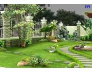 Trang trí hàng rào sắt đẹp cho sân vườn