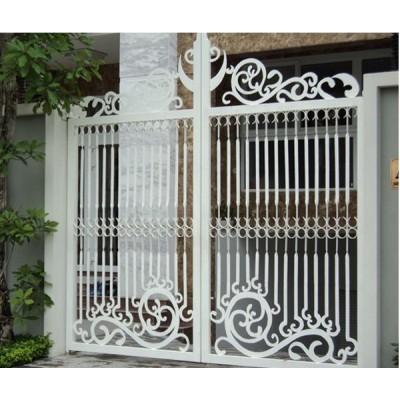 19 mẫu cửa cổng sắt 2 cánh đẹp, đơn giản, hiện đại