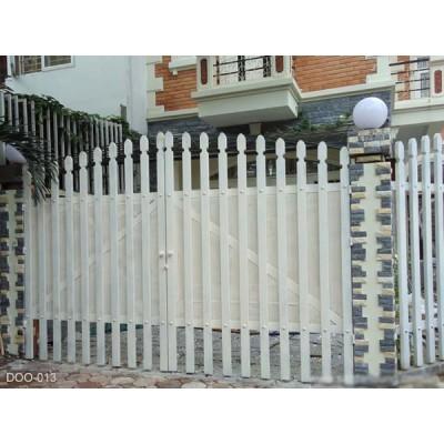 Mẫu cửa cổng sắt 2 cánh đẹp 2