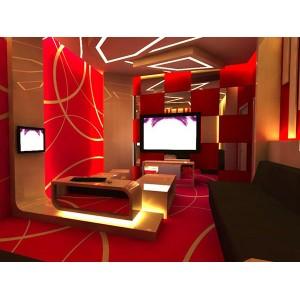Mẫu trần vách thạch cao phòng hát karaoke 1