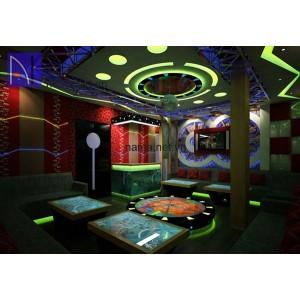 Mẫu trần vách thạch cao phòng hát karaoke 2