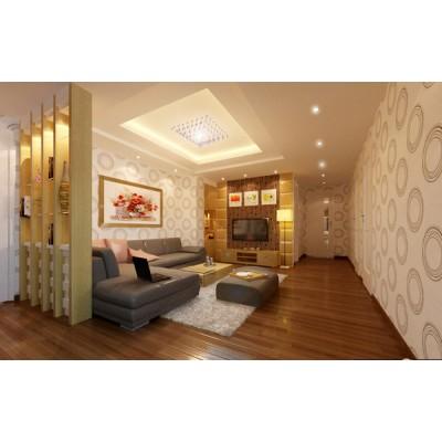 Mẫu trần vách thạch cao phòng khách đẹp 1