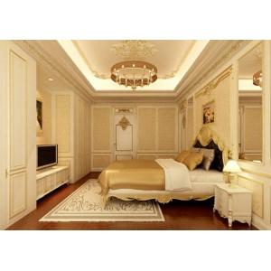Mẫu trần vách thạch cao phòng ngủ đẹp 1