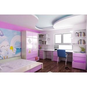 Mốt số mẫu thiết kế trần thạch cao cho phòng trẻ em