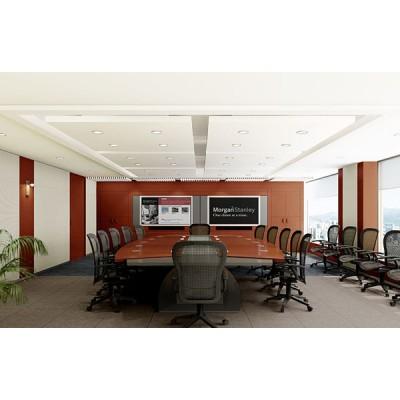 Mẫu trần vách thạch cao văn phòng đẹp