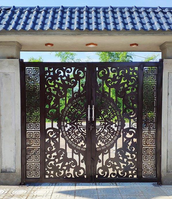 Xem 60 mẫu cửa cổng sắt CNC nghệ thuật đẹp khiến vạn người mê