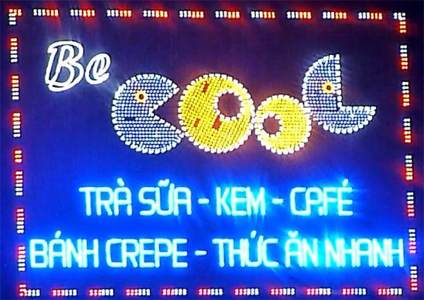 Thi công bảng hiệu led tại Đà Nẵng