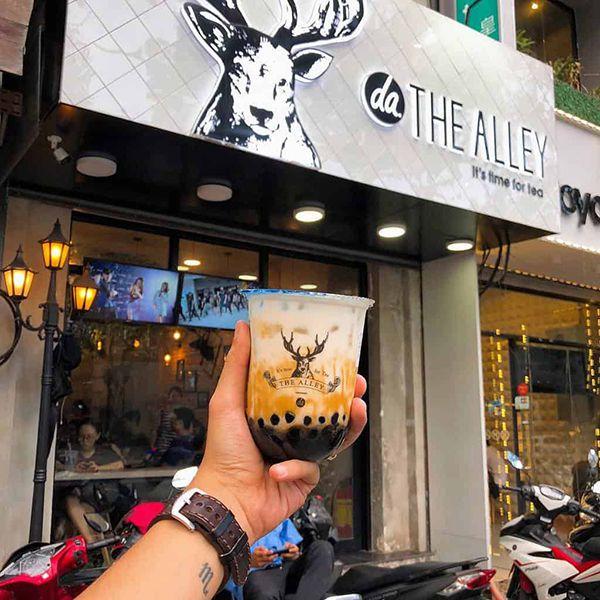 Làm bảng hiệu cửa hàng quán trà sữa giá rẻ ở Đà Nẵng