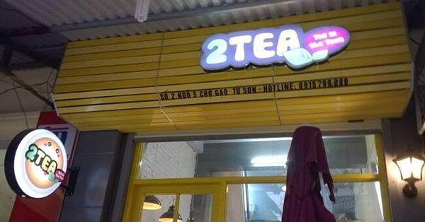 Thi công bảng quảng cáo quán trà sữa tại Đà Nẵng