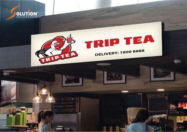 mẫu bảng hiệu quảng cáo trà sữa