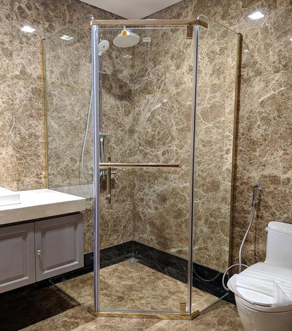 bảng báo giá thi công lắp đặt phòng tắm kính
