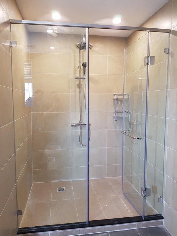 bảng báo giá thi công lắp đặt vách kính phòng tắm