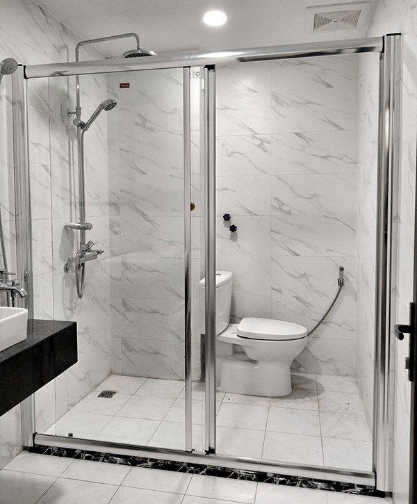 Tổng hợp 40 mẫu vách         bí mậth tắm hiện đại đẹp đến không ngờ